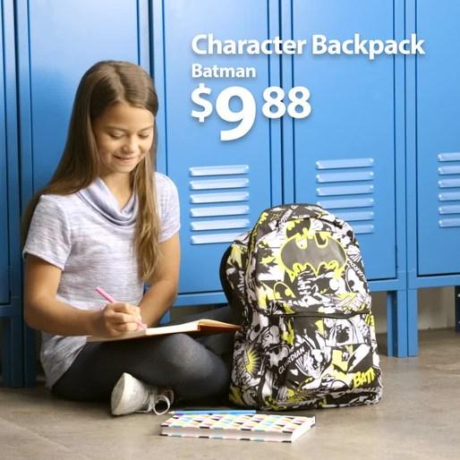 - Walmart - Back to School